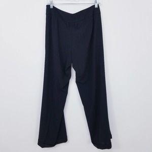 Rene Lezard High rise Folded Hem Straight Trouser